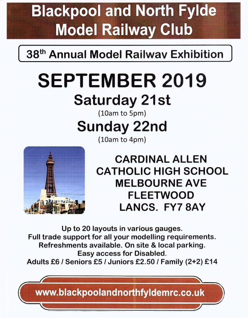 Model Railway Exhibition September 2019