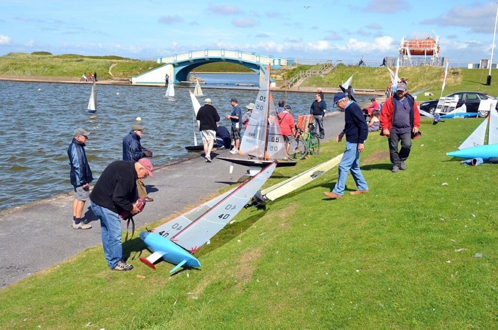 Model Yacht Competition at Fleetwood
