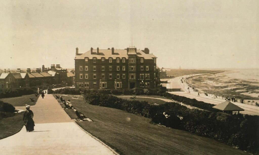 Mount Hotel Fleetwood. Old Fleetwood photos