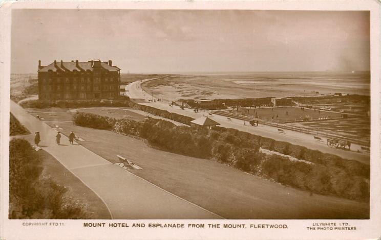 Mount Hotel Fleetwood 1909, old Fleetwood photos