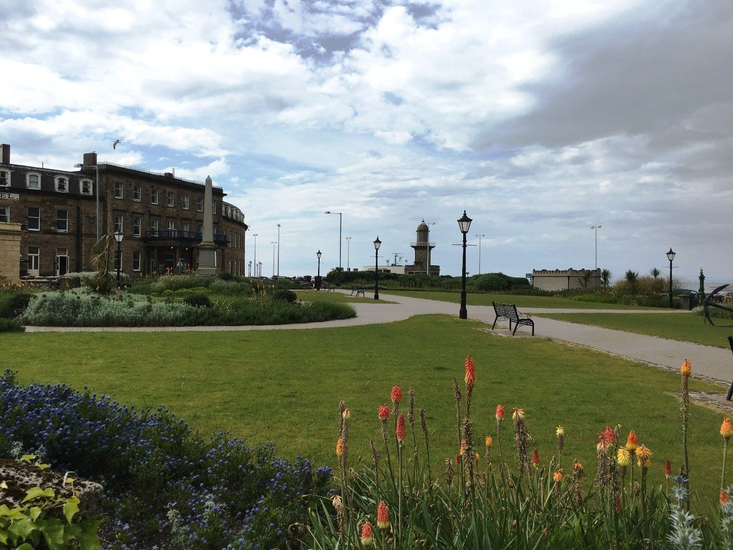 North Euston Hotel and gardens, history of Fleetwood