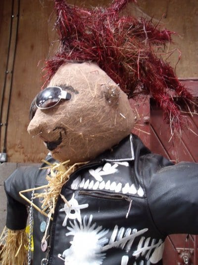 Punk scarecrow