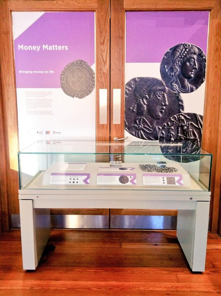 Rossall Hoard on Display at the Harris Museum