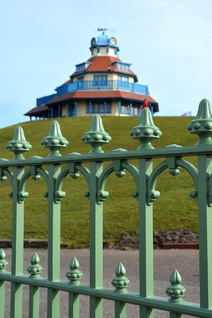 The Mount, Fleetwood, in the Conservation area