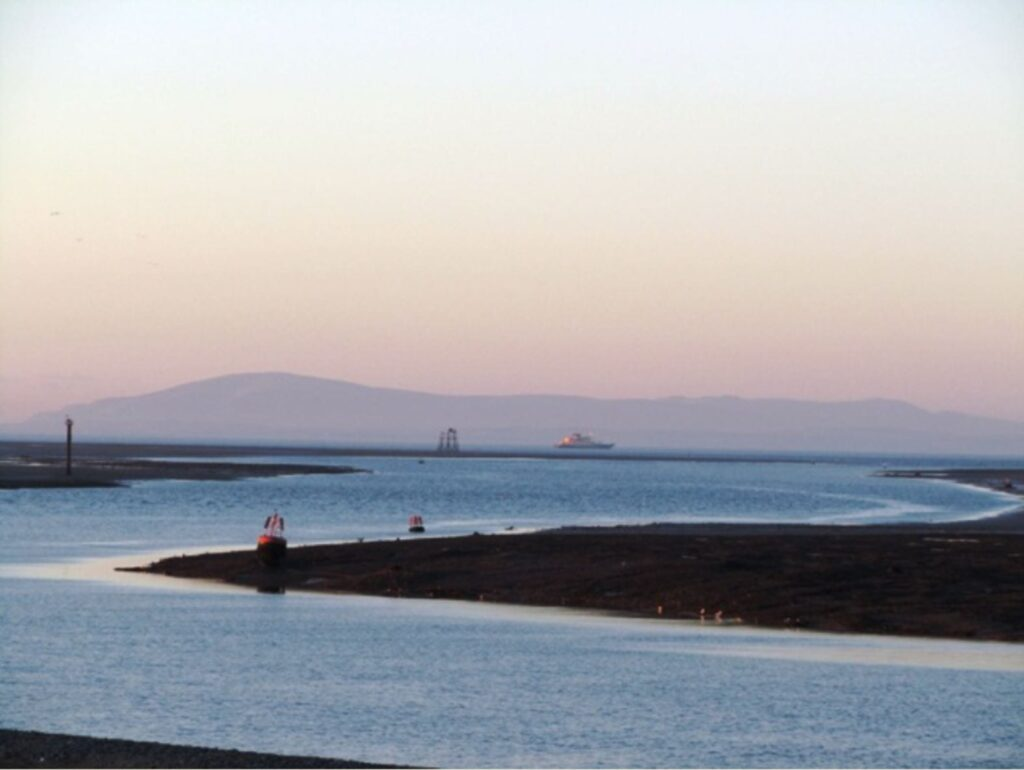 River Wyre Channel and Wyre Light