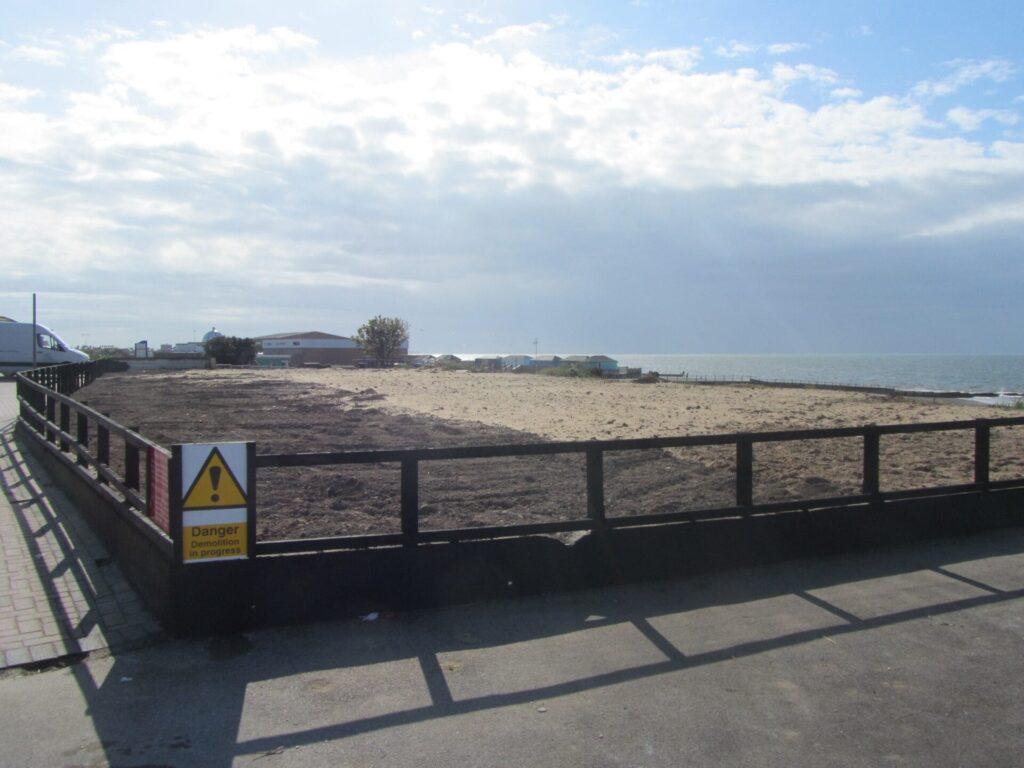 Site of Fleetwood Pier - history of Fleetwood