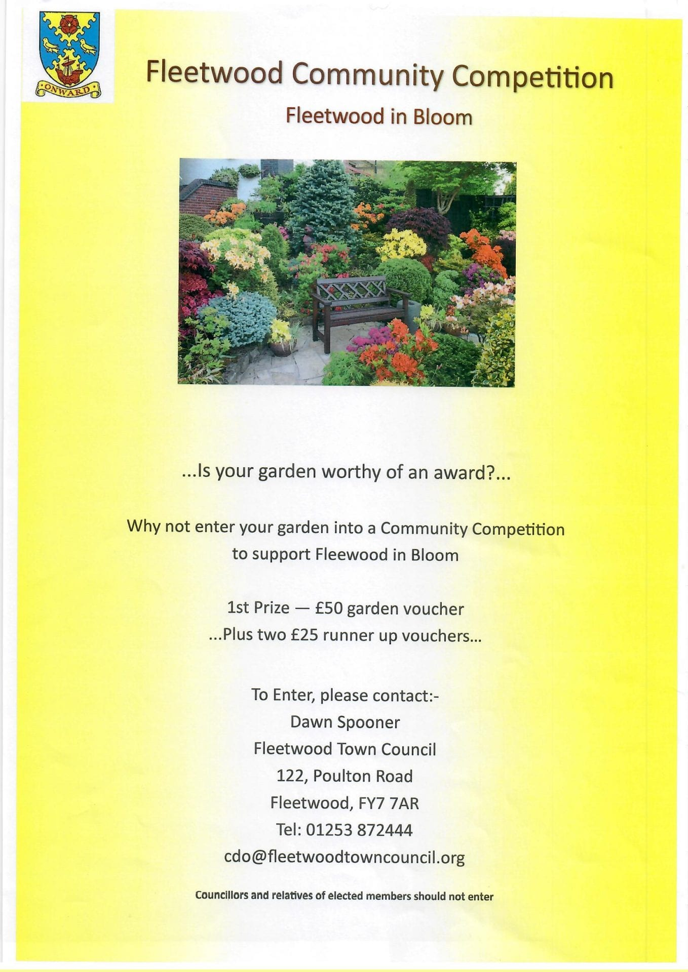 2019 Community Competition with Fleetwood In Bloom