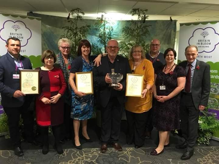 Fleetwood In Bloom win a Gold Medal in 2018
