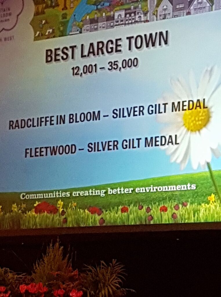 Silver Gilt Award for Fleetwood In Bloom, 2017