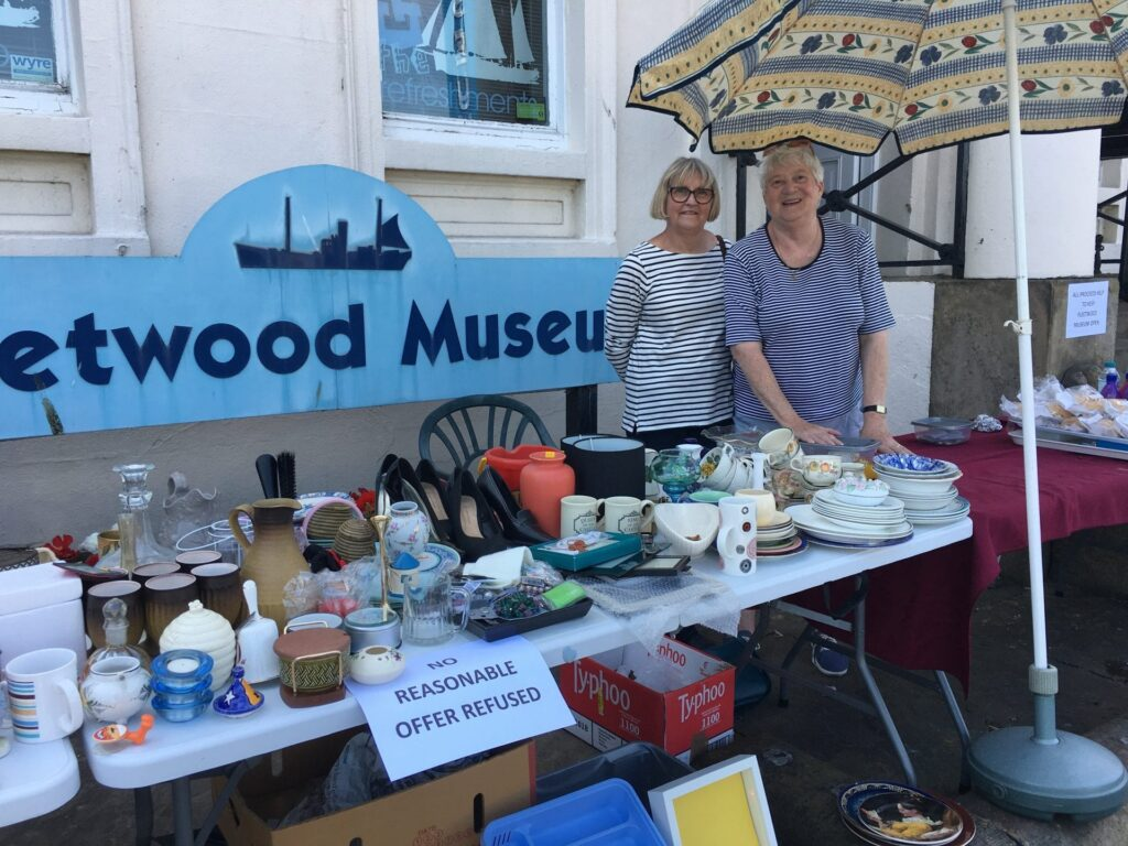 Tram Sunday 2018 Photos, what's happening at Fleetwood Museum.