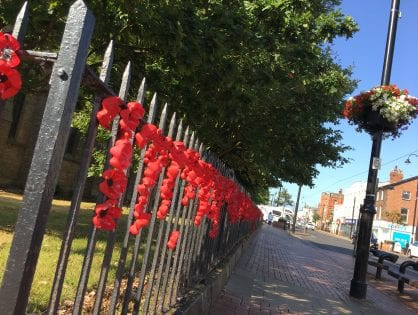 10,000 Poppies in Fleetwood