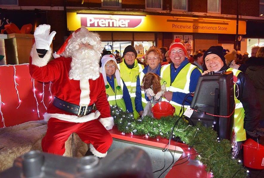 Fleetwood Rotary Santa Sleigh Run