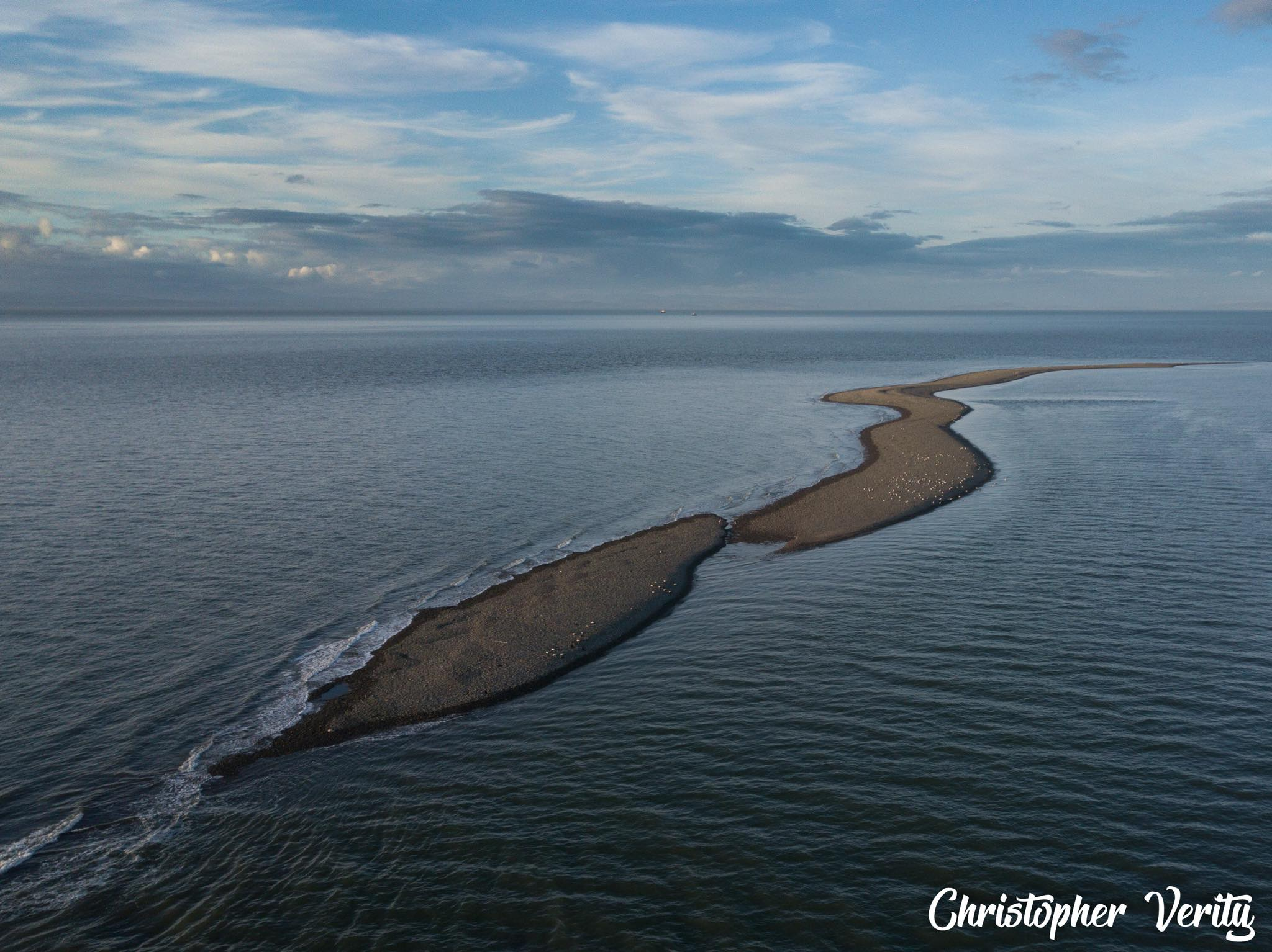 Offshore Shingle Island See It Rising Out Of The Sea