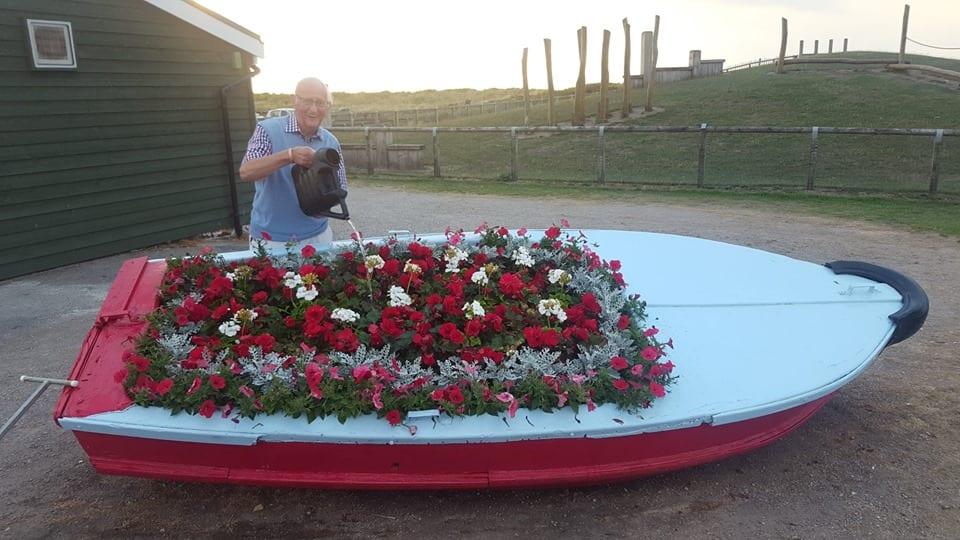 Fleetwood In Bloom volunteer George