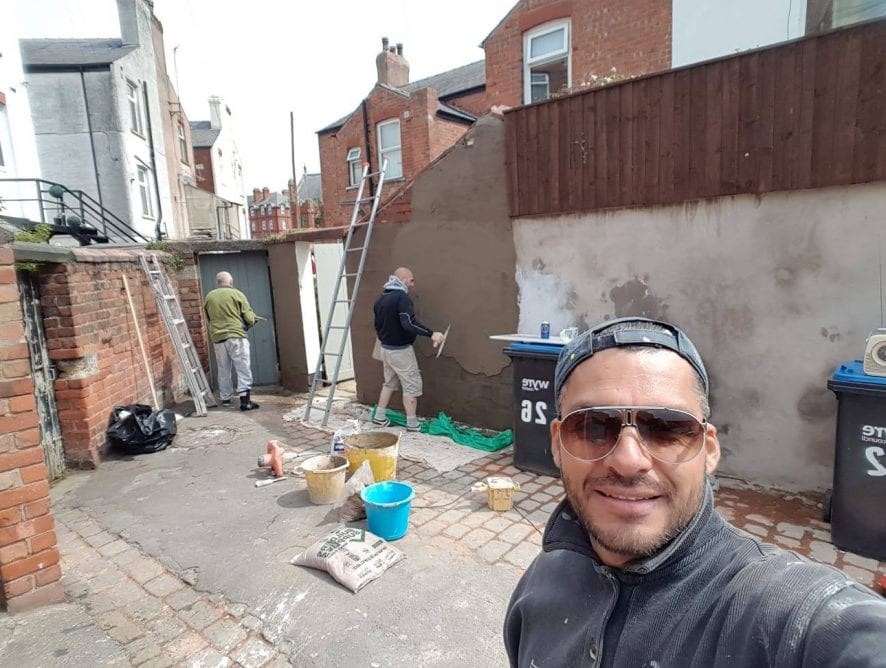 Back Alley project with Fleetwood in Bloom 2019