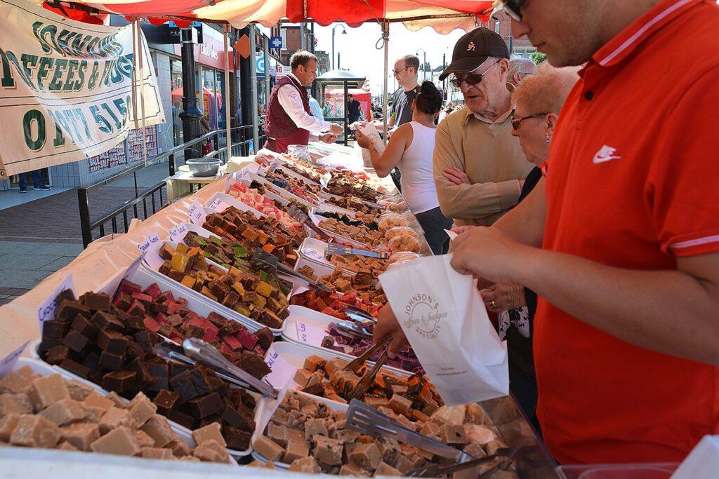 Continental Market at Tram Sunday