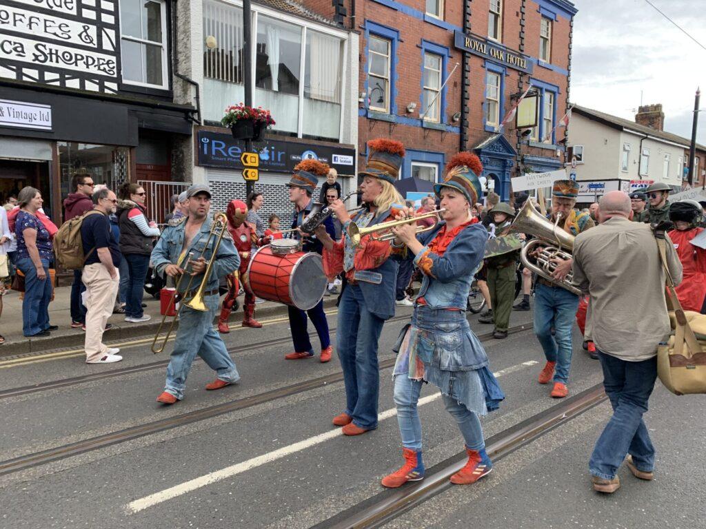 SpareParts Arts Parade at Tram Sunday 2019