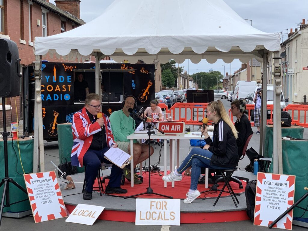 Radio Local with SpareParts at Tram Sunday 2019, off North Albert Street