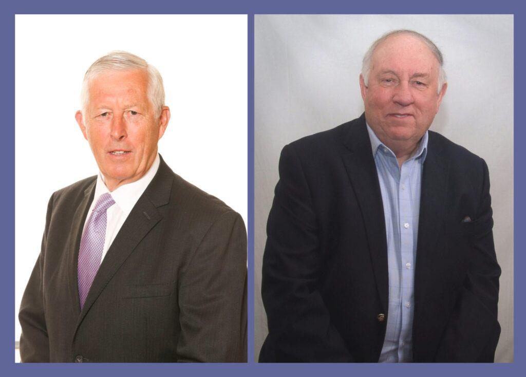 Frank Heald and John Woodman from Wyre Dock Development Ltd