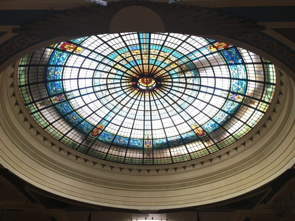 Restoration of the Dome at Marine Hall