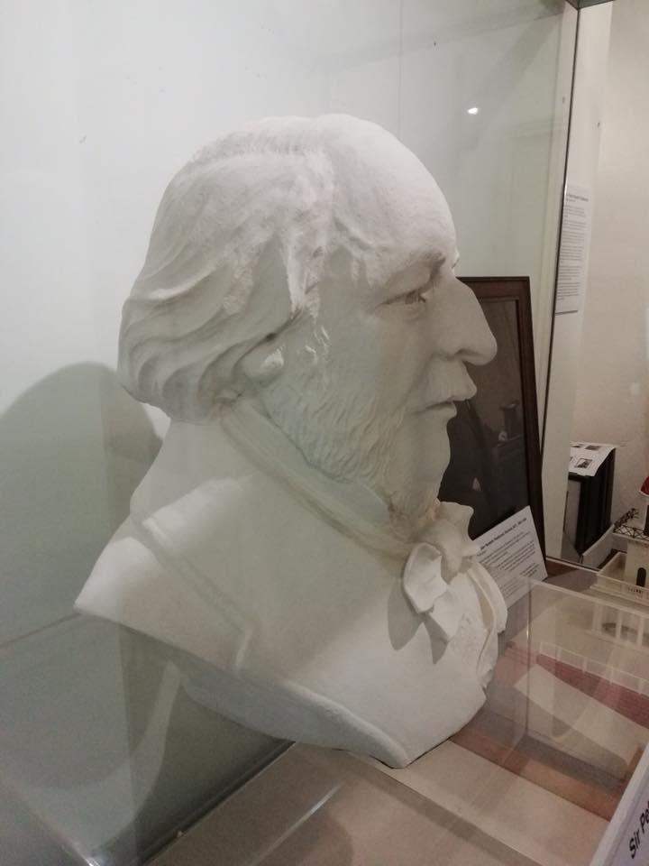 Bust of Sir Peter Hesketh Fleetwood, on display at Fleetwood Museum