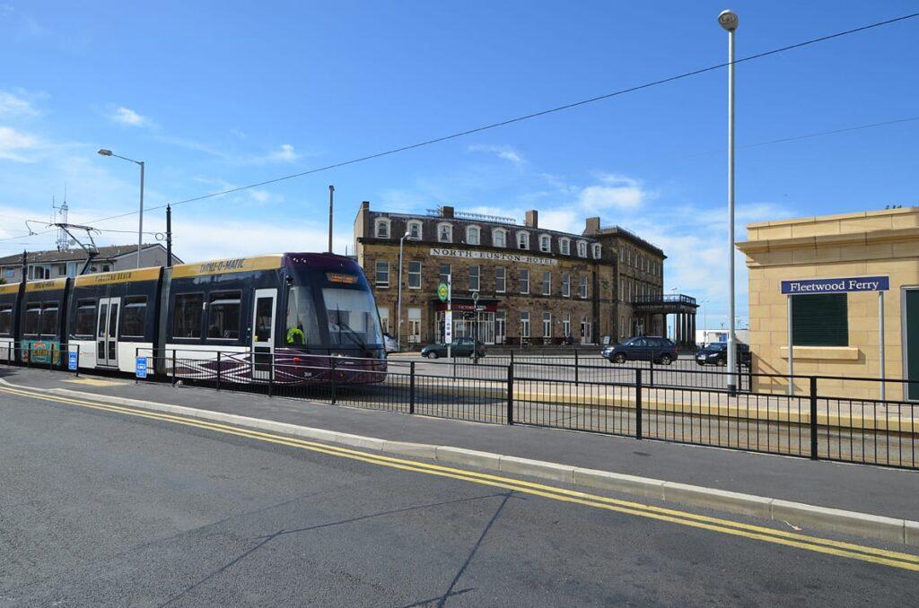 Trams in Fleetwood